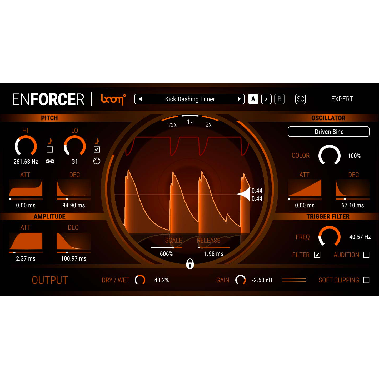 BOOM Library Enforcer Virtual Instruments PluginFox
