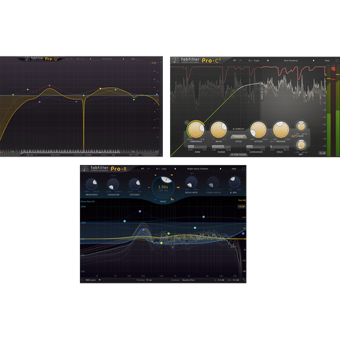 FabFilter Essentials Bundle Plugins PluginFox
