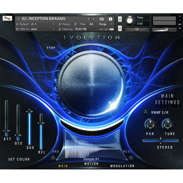 Keepforest Evolution: Atlantica Kontakt Instruments PluginFox