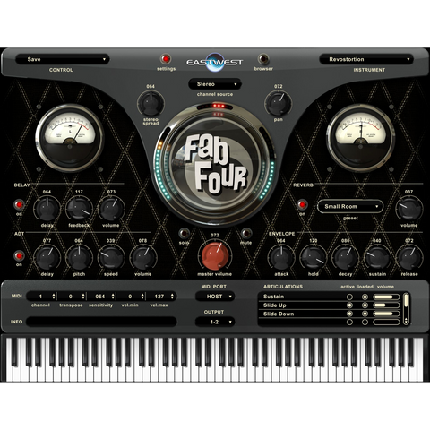 East West Fab Four Virtual Instruments PluginFox