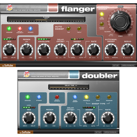 Softube Fix Flanger & Doubler