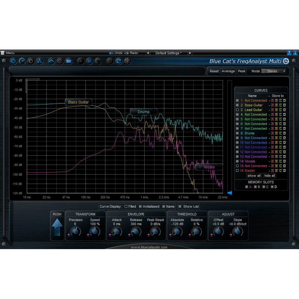 Blue Cat Audio FreqAnalyst Multi Plugins PluginFox