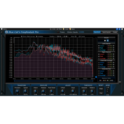 Blue Cat Audio FreqAnalyst Pro Plugins PluginFox