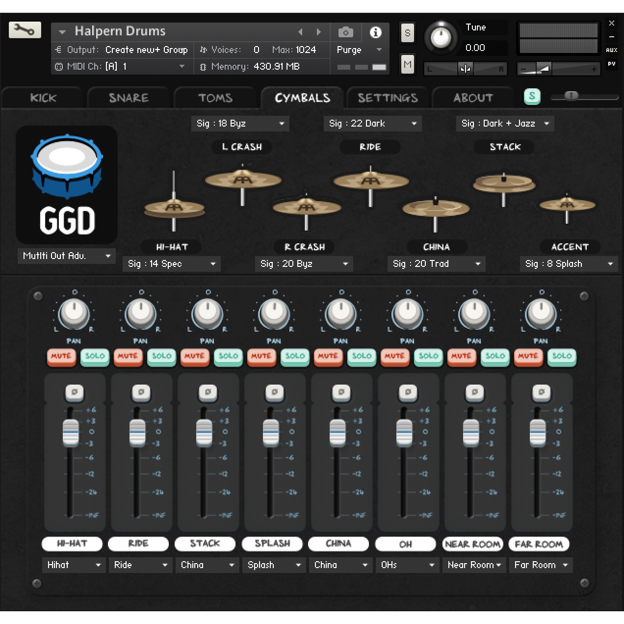 GGD Matt Halpern Signature Pack Kontakt Libraries PluginFox