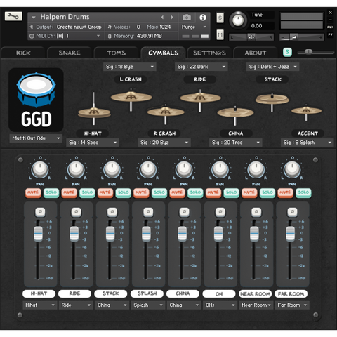 GetGood Drums Matt Halpern Signature Pack Virtual Instruments PluginFox