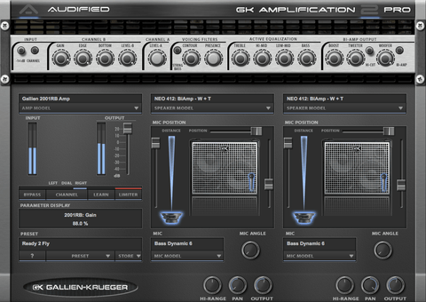 Audified GK Amplification 2 Pro Plugins PluginFox