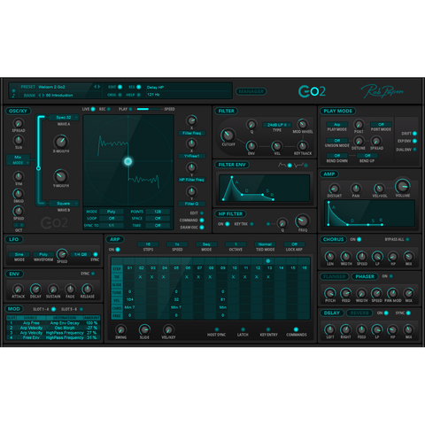 Rob Papen Go2 Virtual Instruments PluginFox