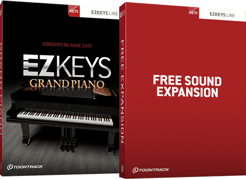 Toontrack EZKeys Grand Piano + Free Sound Expansion