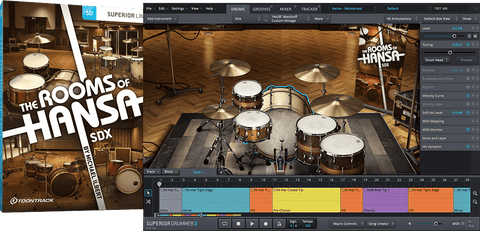 Toontrack SDX: The Rooms of Hansa