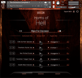 SonuScore The Orchestra: Horns of Hell