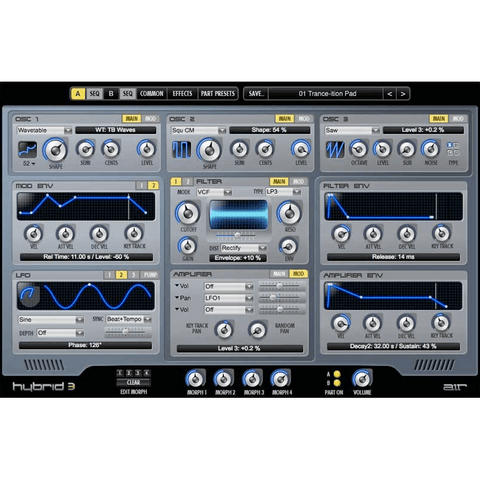 AIR Hybrid 3 Virtual Instruments PluginFox