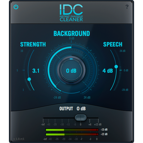 Audionamix IDC Instant Dialogue Cleaner Standalone Processing PluginFox
