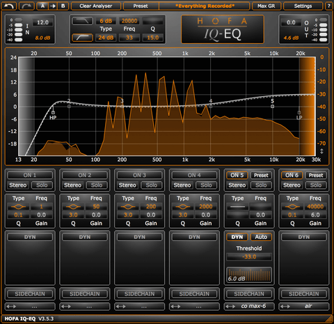 HOFA IQ Series EQ V3