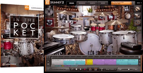 Toontrack EZX: In The Pocket