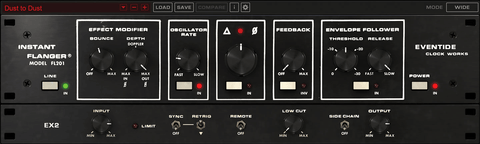 Eventide Instant Flanger MKII Plugins PluginFox