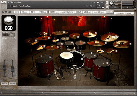 GGD Invasion Kontakt Libraries PluginFox