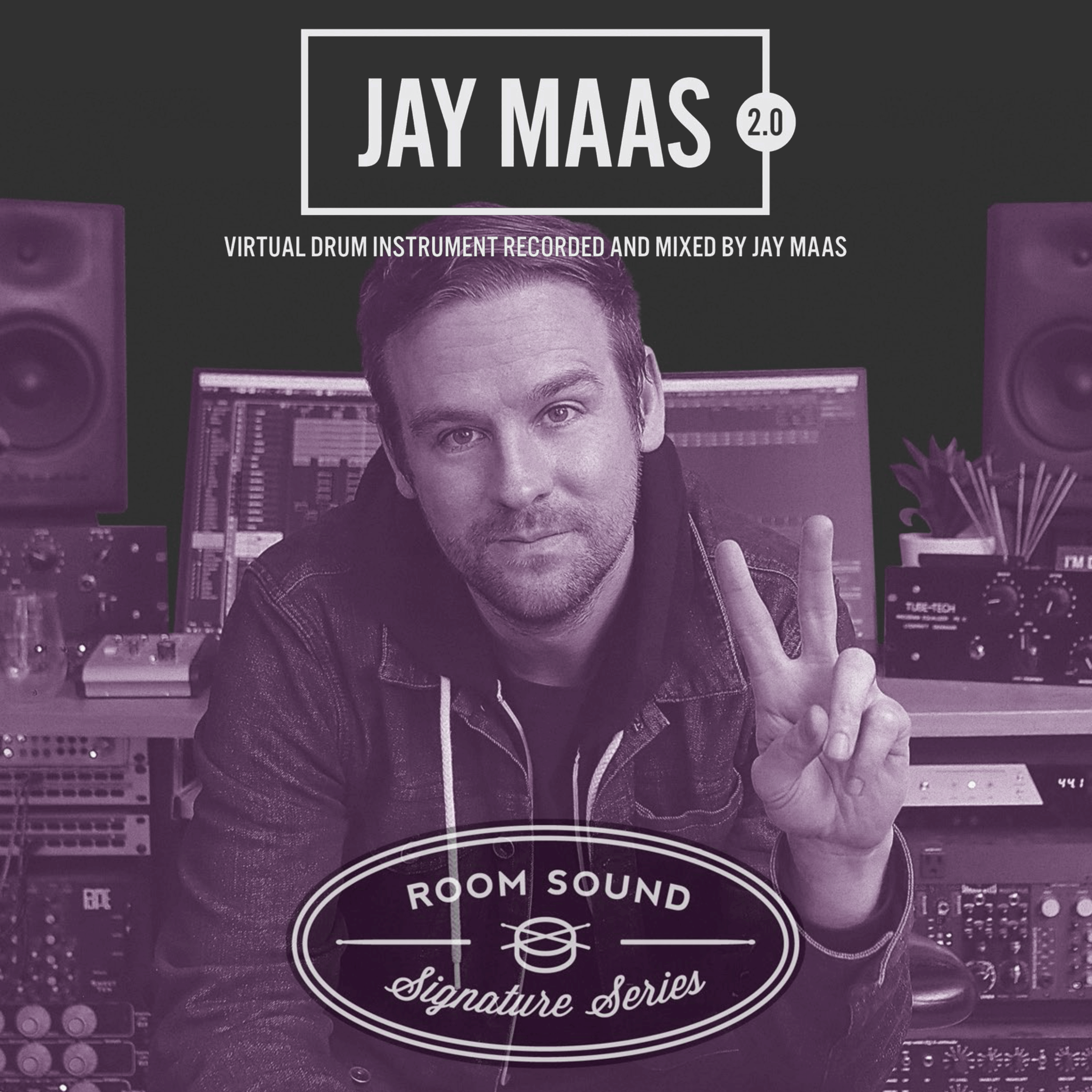 Room Sound Jay Maas Signature Series Drums 2.0