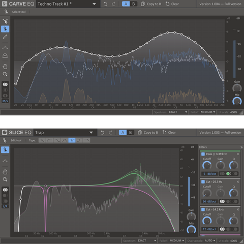 Kilohearts kHS Equalizers Plugins PluginFox