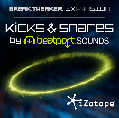 iZotope Breaktweaker Expansion: Kicks & Snares