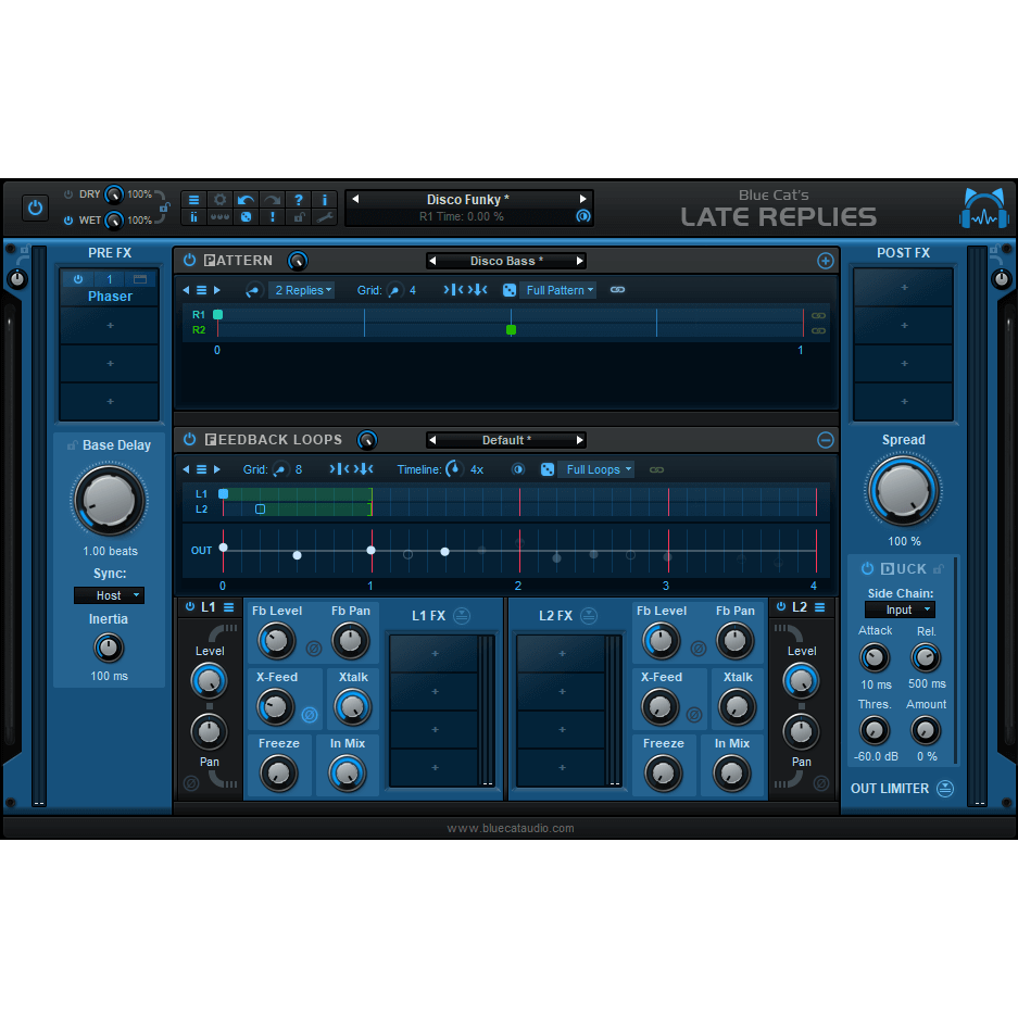 Blue Cat Audio Late Replies Plugins PluginFox