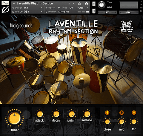 IndigiSounds Laventille Percussion Samples