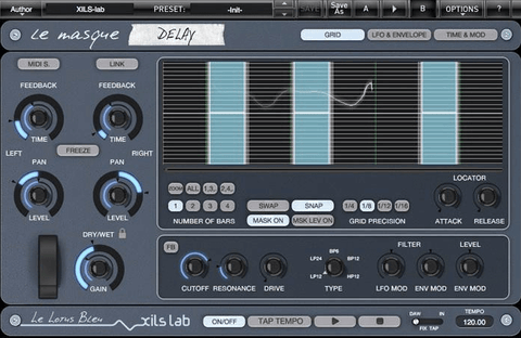 XILS Lab Le Masque Delay