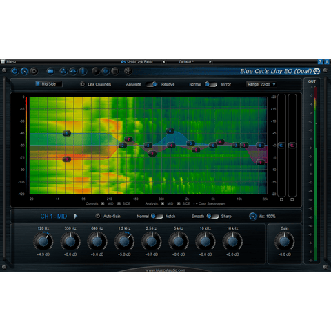 Blue Cat Audio Liny EQ Plugins PluginFox