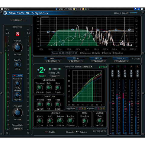 Blue Cat Audio MB-5 Dynamix Plugins PluginFox