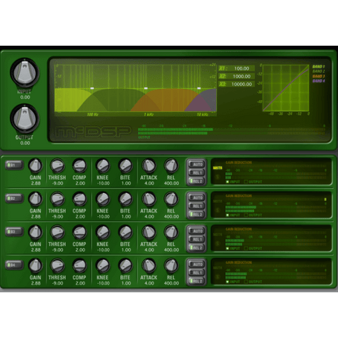 McDSP MC2000 Multiband Compressor Native Plugins PluginFox