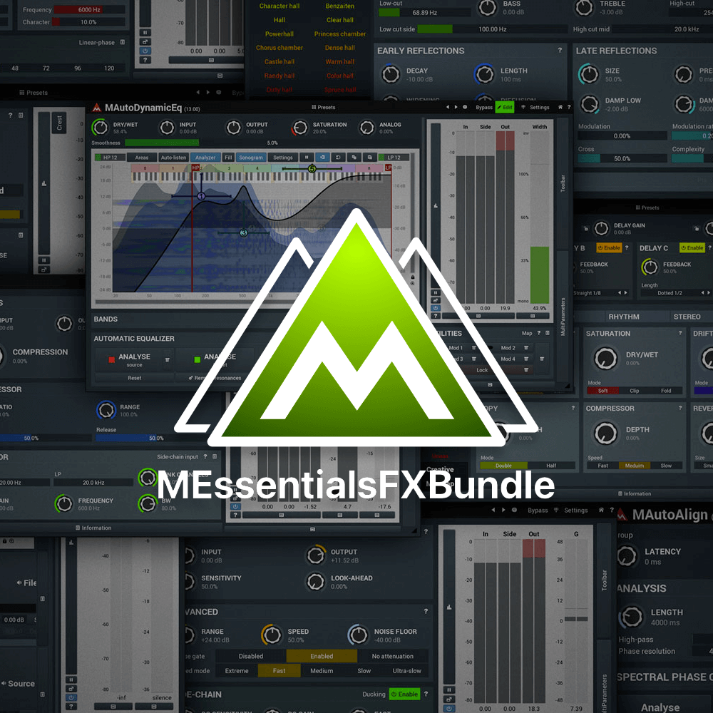 MeldaProduction MEssentialsFXBundle