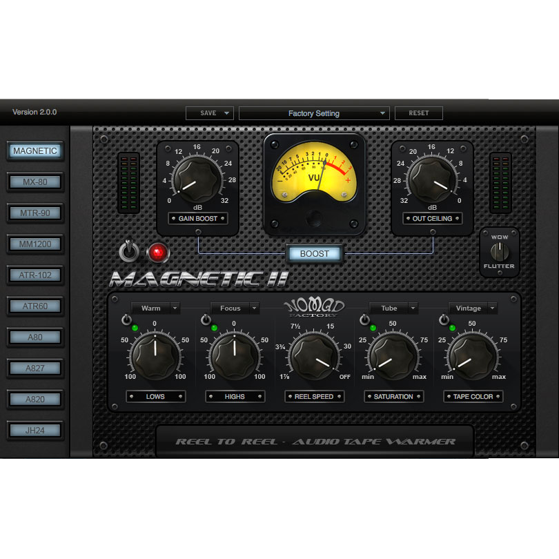 Nomad Factory Magnetic II Plugins PluginFox