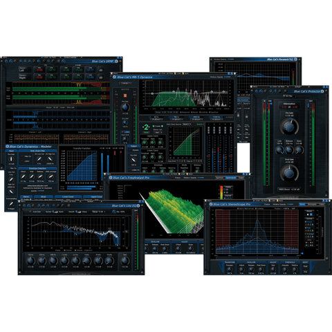 Blue Cat Audio Master Pack Plugins PluginFox