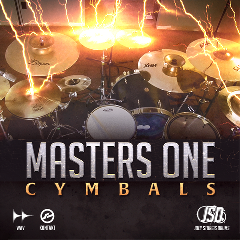 Joey Sturgis Drums Masters One Cymbals Samples PluginFox