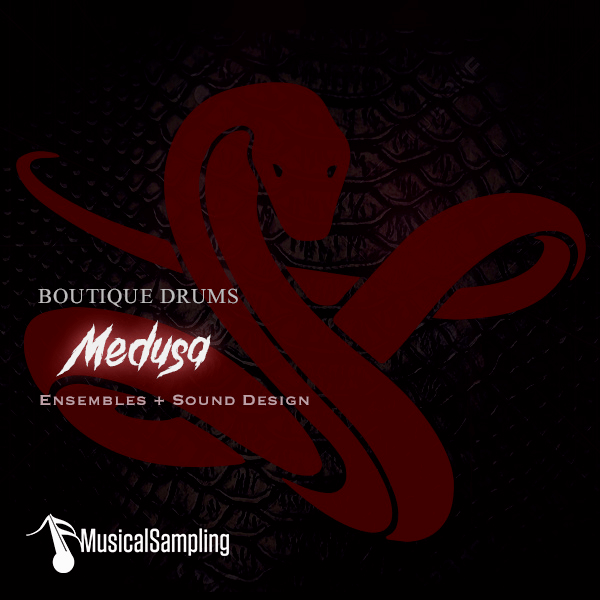 Musical Sampling Boutique Drums Medusa