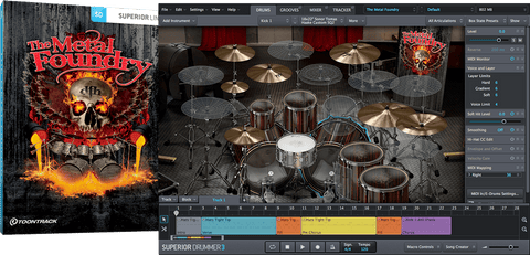Toontrack SDX: The Metal Foundry