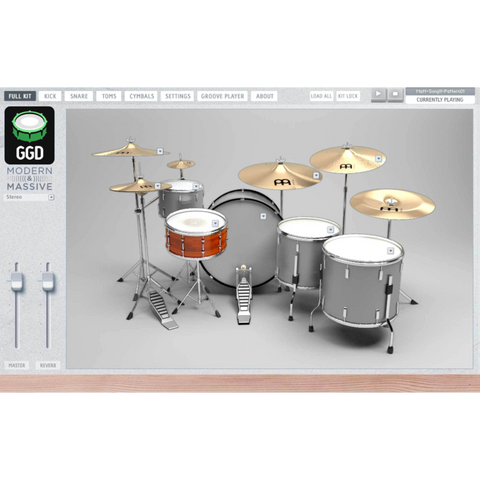 GetGood Drums Modern & Massive Virtual Instruments PluginFox