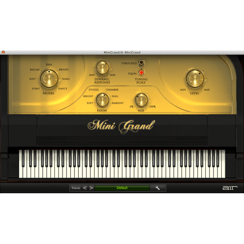 AIR Mini Grand Virtual Instruments PluginFox