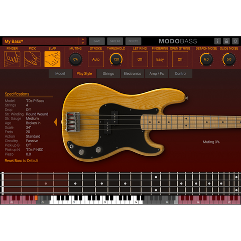 IK Multimedia MODO Bass Virtual Instruments PluginFox