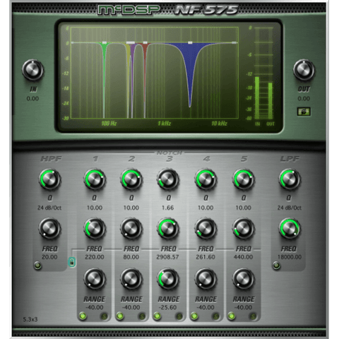 McDSP NF575 Noise Filter Native Plugins PluginFox