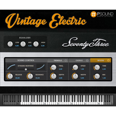 PSound Vintage Electric Virtual Instruments PluginFox