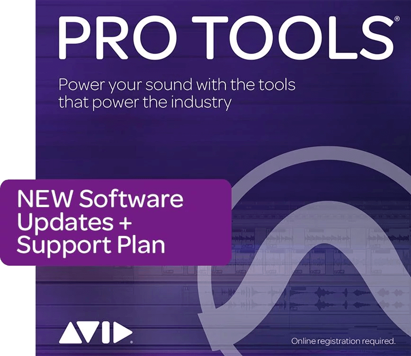 AVID Pro Tools 1-Year Updates + Support Plan DAW PluginFox