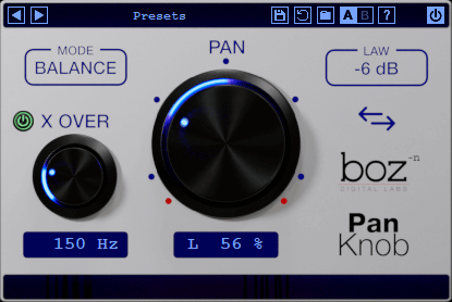 Boz Digital Labs Pan Knob Plugins PluginFox