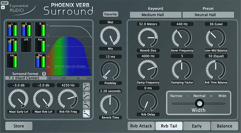 Exponential Audio PhoenixVerb Surround Plugins PluginFox