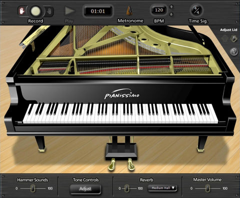 Acoustica Pianissimo Virtual Instruments PluginFox
