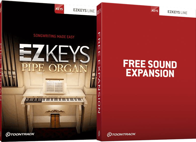 Toontrack EZKeys Pipe Organ + Free Sound Expansion