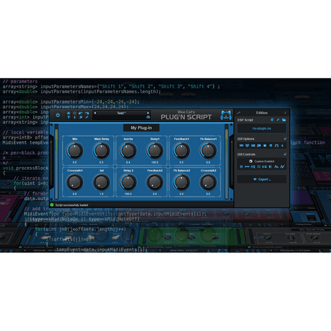 Blue Cat Audio Plug'n Script Plugins PluginFox