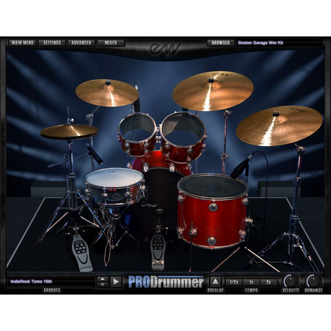 EastWest ProDrummer Vol 1 & Vol 2 Bundle Virtual Instruments PluginFox