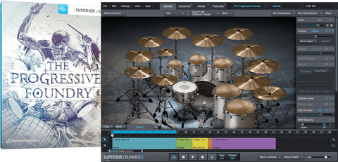 Toontrack SDX: The Progressive Foundry