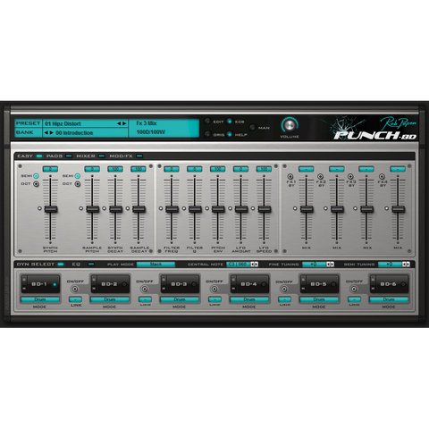 Rob Papen Punch-BD Virtual Instruments PluginFox