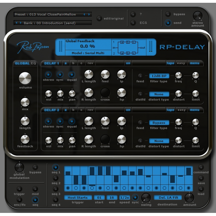 Rob Papen RP-Delay Plugins PluginFox